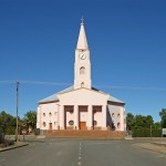 This church is in Hofmyr in the Free State.
