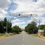 Entrance to Zastron, Free State